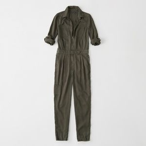 Abercrombie and Fitch Jumpsuit - Green